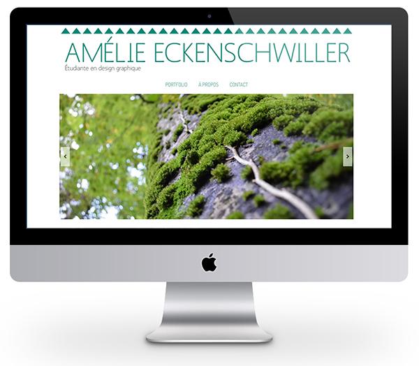 Portfolio sur WordPress de 2014
